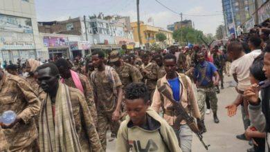 """صورة إثيوبيا: قتلى وجرحى في """"قصف جوي"""" لعاصمة تيغراي"""