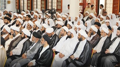 Photo of Bahrain seminary school denounce the insults to Imam Mahdi (a.s.)