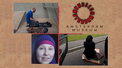 Photo of Dutch exhibit explores new Muslims' life