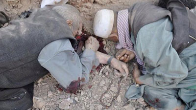 Taliban terrorists killed 14 Hazaras in Ghor province