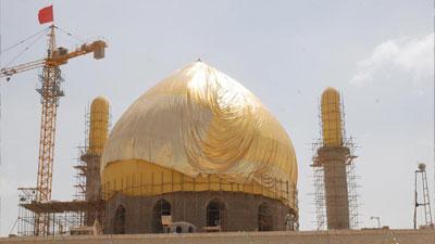 Photo of Mortar shells fall near al-Askariyan holy shrine in Samarra