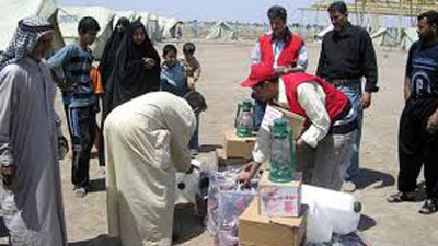 Photo of Imam Ali Holy shrine sends Aid to Amirli district people