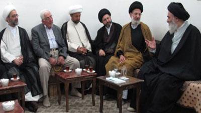 Photo of The Eminent Grand Ayatollah Sayed Shirazi, may Allah prolong his life, stresses the importance of global Shia cultural uprising