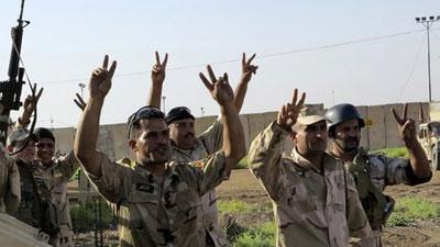 Photo of Liberation of two areas northwest of Ramadi.