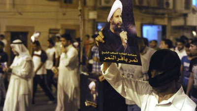 Photo of Saudi Shias hold anti-regime protest in Qatif