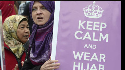 British women fight racism with Hijab