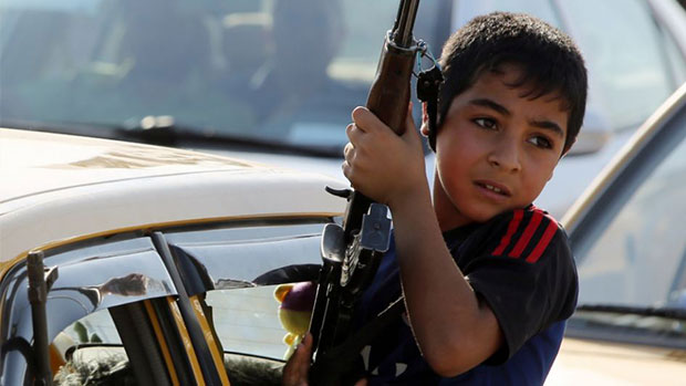 Photo of ISIL uses children as human shields in Iraq