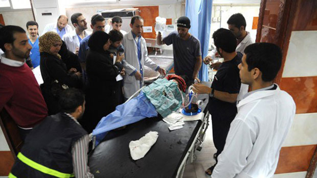 Photo of 2 Shia civilians injured in Rocket attacks