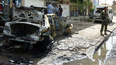 Photo of Dozens martyred and dozens injured in a series of explosions across Baghdad