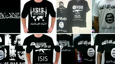Photo of ISIS-branded merchandise sold on Amazon and Facebook (World)