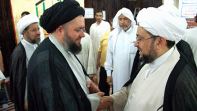 Photo of Grand Ayatollah Sayed Shirazi's Hajj expedition commences its activities with the arrival of the Eminent Sayed Shirazi's son (Holy Mecca – Saudi Arabia)