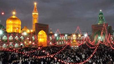 Photo of Muslims around the world celebrated Imam Reza's birth anniversary