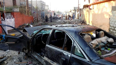 Photo of Iraq car bomb kills 14, leaves dozens injured in Shia neighborhood