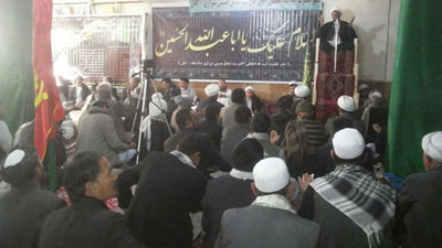 Kabul office of Eminent Grand Ayatollah Sayed Shirazi holds a meeting for Friday prayer's leaders and orators