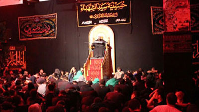Photo of Master of Martyrs' Husseiniyah holds mourning ceremonies