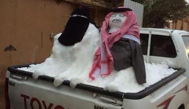 Photo of Saudi cleric's snowman verdict causes controversy