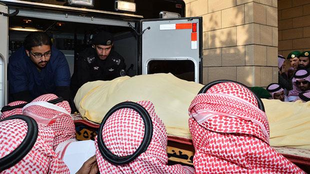 Photo of Saudi Arabia's King Abdullah dies