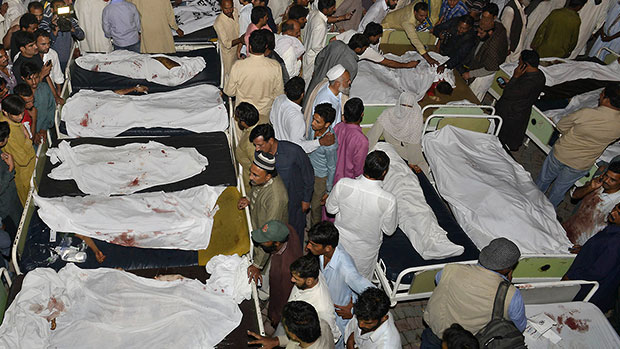 Photo of Martyrs toll mounts to 64 in Shikarpur suicide blast