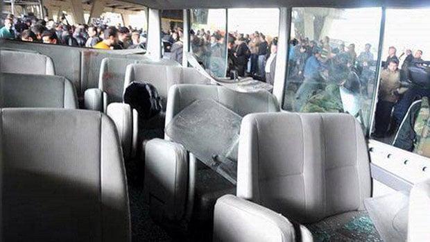 Photo of Bomb blast on a bus leaves 7 dead, 20 injured