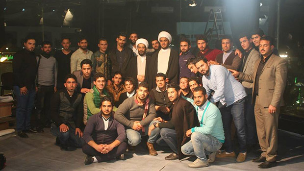 Photo of A delegation of Durar Youth Group has visited IHTV Group in the holy city of Karbala to exchange experiences and ideas with the staff of the network.