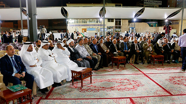 Photo of Imam Ali Holy Shrine holds poetry festival about Lady Fatimah al-Zahra, peace be upon her, in Holy Najaf