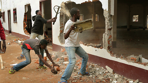 Photo of Nearly all mosques in Central African Republic destroyed in conflict