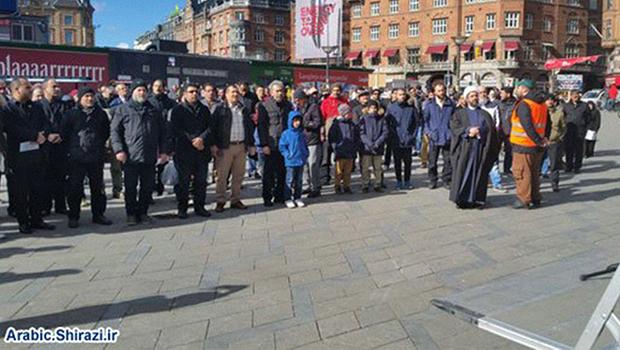 Photo of Copenhagen protest slams Saudi attacks on Yemen