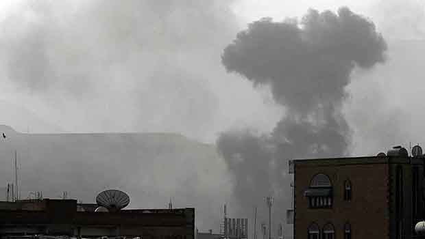 Photo of Saudi air strikes hit medical center in Yemen