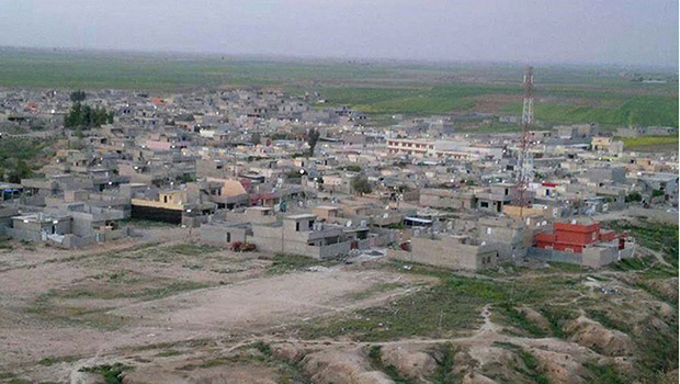 Photo of Bashir village in Kirkuk liberated from IS terrorists
