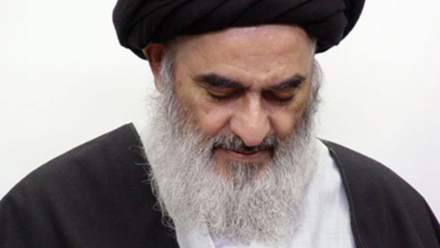 Photo of The Grand Ayatollah Sayed Shirazi urges to make use of all means to release Sheikh al-Nimr
