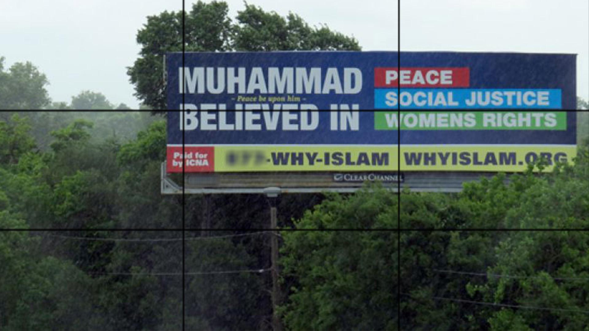 Photo of Billboards dispel Islam misconceptions in Michigan