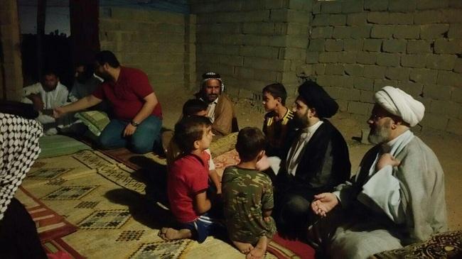 Photo of Delegation of Grand Ayatollah Sayed Shirazi's office visits orphans in Holy Karbala