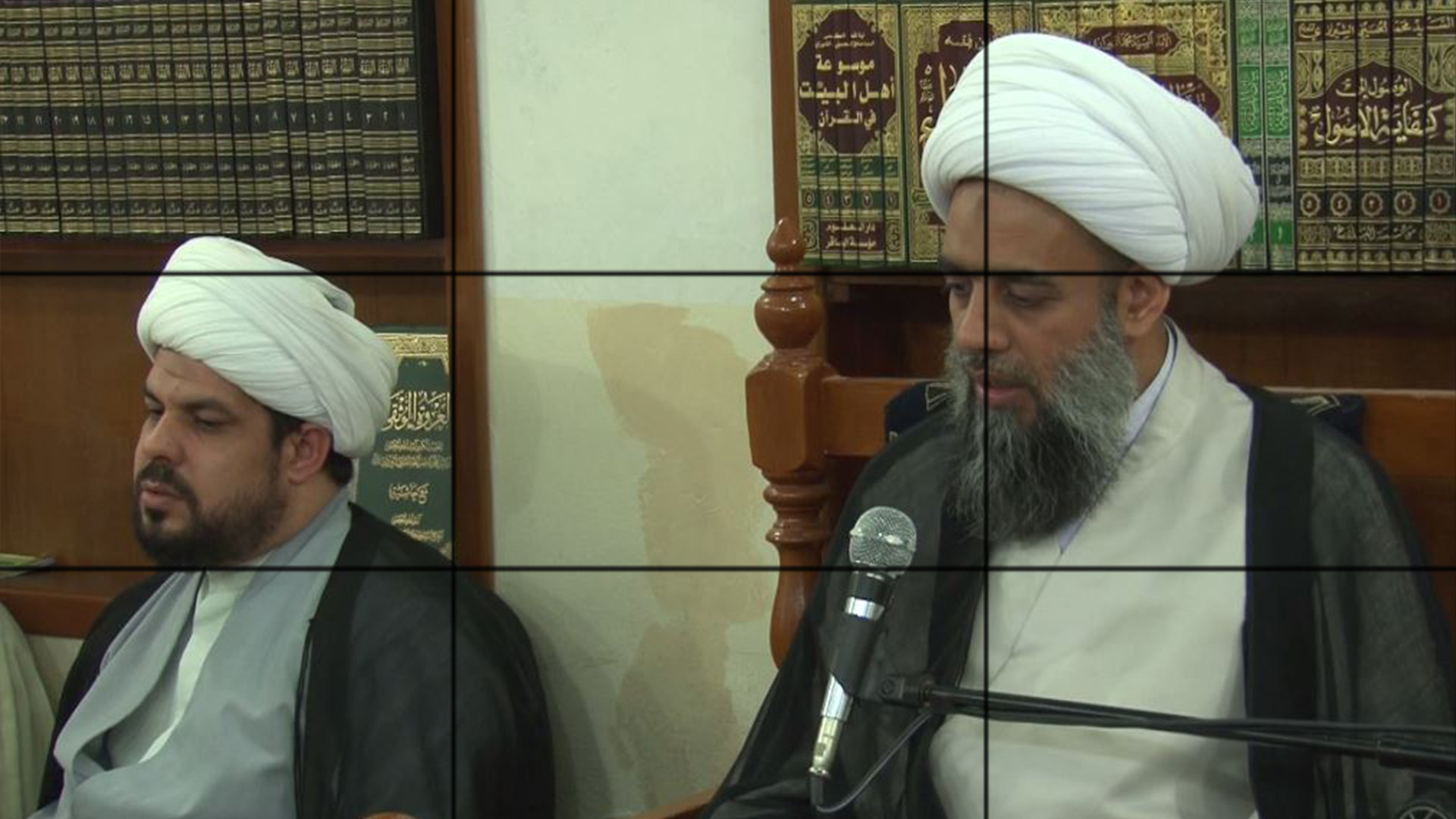 Photo of Sessions of Holy Quran's Tafseer held at the Grand Ayatollah Sayed Shirazi's office