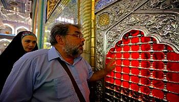 Photo of Ukrainian priest reveals Christians' love to Imam Hussain, peace be upon him