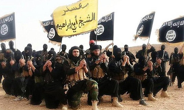 "Photo of ""Islamic State""terrorists secretly planning to provoke 'end of the world' by attacking India"