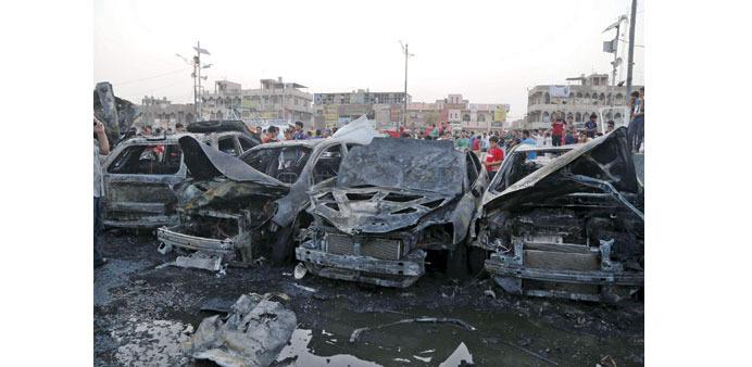 Photo of At least 10 martyred in blast at Shia neighborhoods in Baghdad