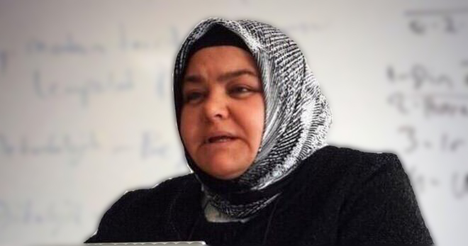 Photo of 1st headscarf-wearing woman named minister
