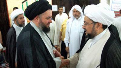 Photo of Grand Ayatollah Sayed Shirazi's son arrives in Holy Medina