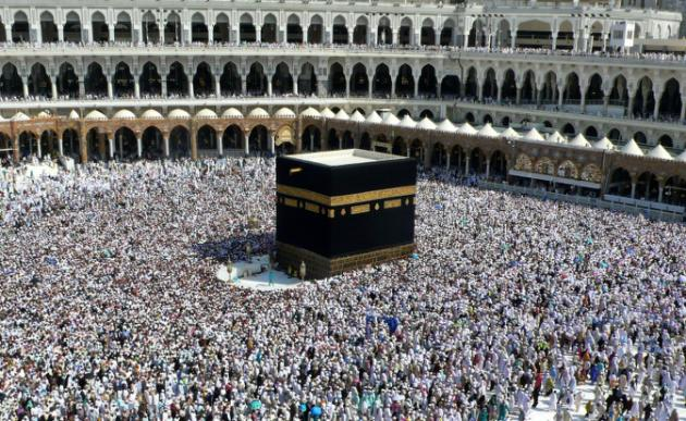 Photo of Hajj pilgrims perform Tawaf