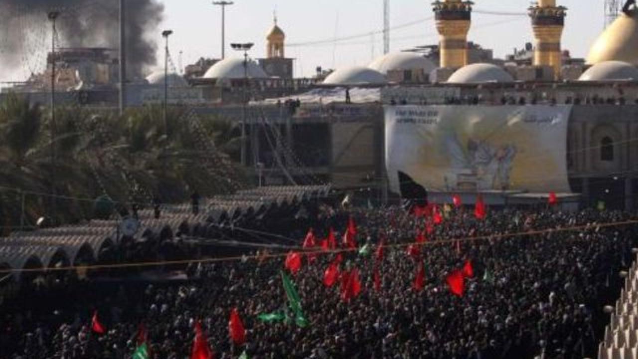 Photo of Holy Karbala overcrowded with pilgrims to perform Arafat rituals