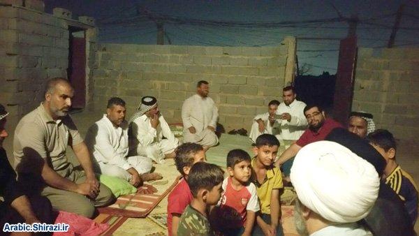 Photo of Delegation of Grand Ayatollah Sayed Shirazi's office visits Husseini caravans in Holy Karbala