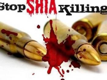 Photo of Shia man gunned down and two daughters injured in Peshawar Pakistan