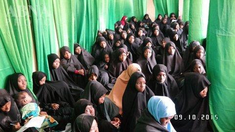 Photo of Conference for Shia girls who attain the age of puberty held in Kano in Nigeria =