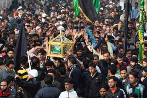 Photo of Muharram mourning ceremonies held across Srinagar