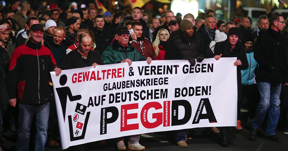 Photo of PEGIDA wants Muslims and refugees in Nazi camps