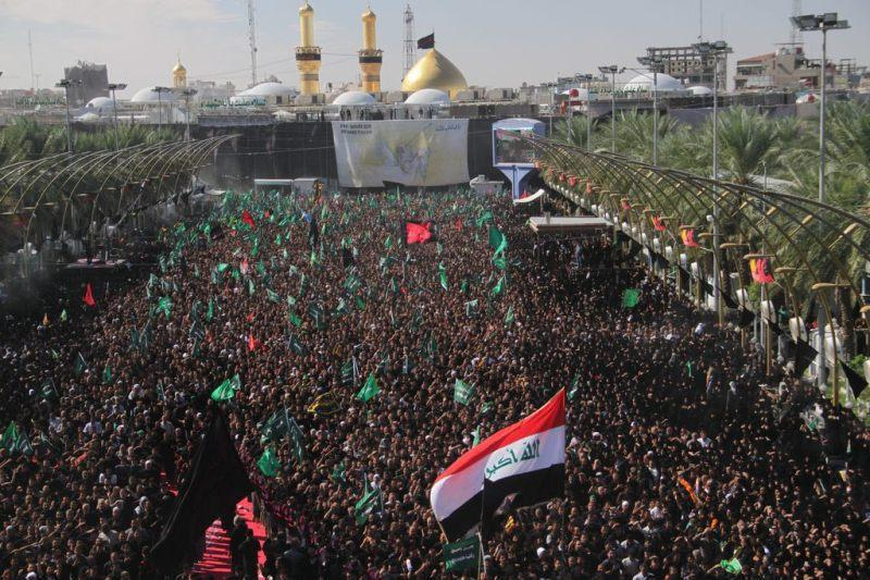 Photo of Seven million pilgrims attend ceremony to mourn martyrdom of Imam Hussein