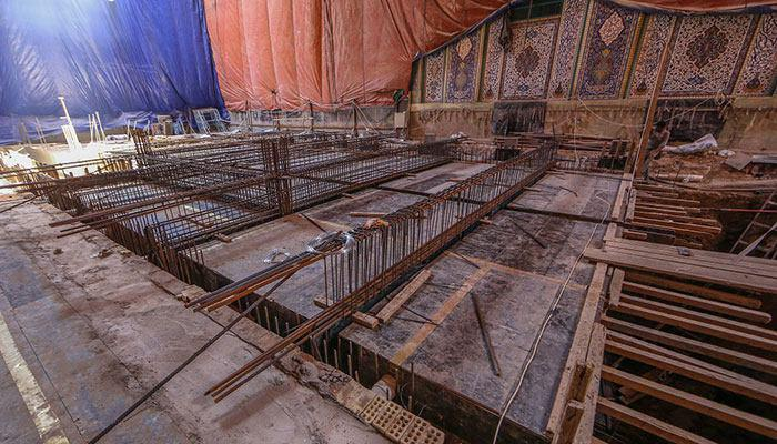 Photo of First stage of al-Hujjah Basement Project to be opened before Arbaeen Pilgrimage