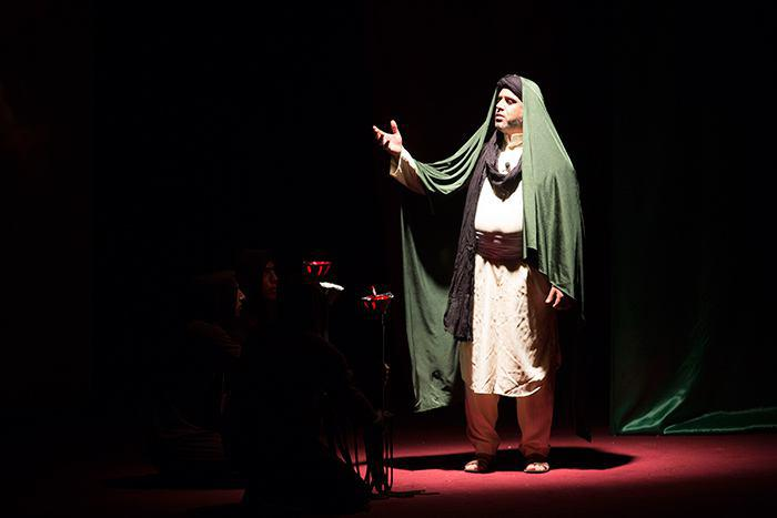 Photo of A theatrical play in Holy Karbala depicts historical crimes extending from the Umayyad until ISIS eras