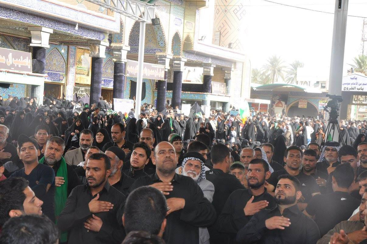 Photo of Thousands of Shia Muslims commemorate martyrdom anniversary of Zaid Bin Ali, peace be upon him, in Iraq's Babel province