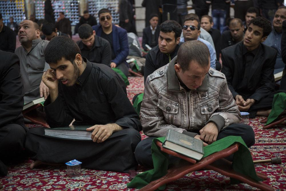 Photo of Quran recitation session for visually-impaired held in Holy Karbala